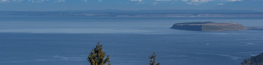 Bell Hill acreage with enormous salt water & mountain views – $185,000