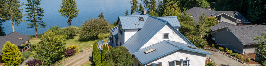Sequim waterfront living at it's best $688,000