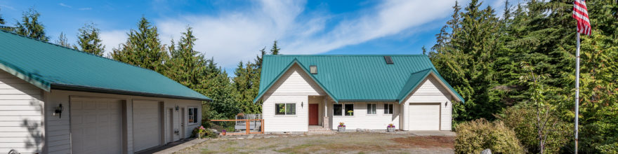 Beautiful home and separate guest quarters in a gorgeous private & natural setting – $440,000