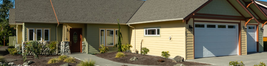 Super high-quality, 3 bedroom 3 & 1/2 bathroom ADA home in one of Sequim's best locations – $545,000
