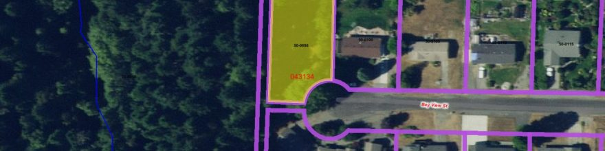 Beautiful parcel at the end of a cul de sac in the desirable Mains Farm neighborhood – $70,000
